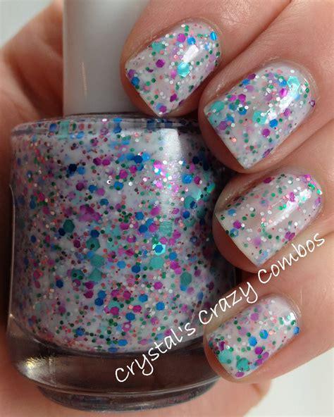 Crystal's Crazy Combos: Polish Addict - Pretty Little Glitters (reformulation)