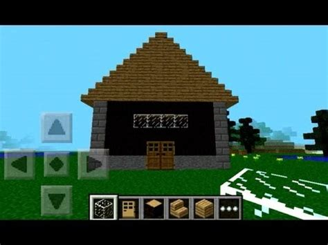 simple house  minecraft pe step  step youtube