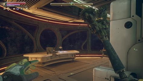 outer worlds sealed door  ship captains quarters