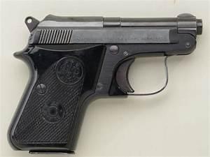 Automobile 25 : beretta model 950 bs 25 acp caliber pocket auto pistol in factory box numbered to this gun with e ~ Gottalentnigeria.com Avis de Voitures