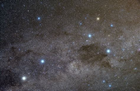 The Milky Way Near The Southern Cross