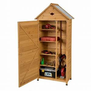 Gymax, Outdoor, Storage, Shed, Lockable, Wooden, Garden, Tool, Storage, Cabinet, W, Shelves