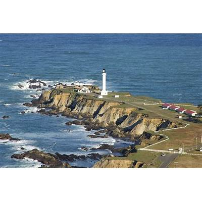 Point Arena Lighthouse in CA United States - lighthouse