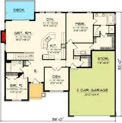 ranch house floor plans open plan plan 89845ah open concept ranch home plan craftsman ranch ranch house plans and plan plan