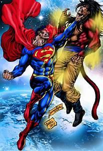 Superman VS Goku by sephiroth0007 on DeviantArt