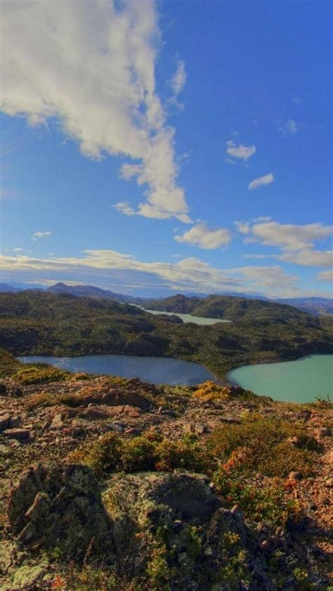 chile mountains landscapes nature lakes patagonia