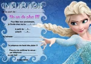 5 Ou 12 Cartes Invitation Anniversaire Reine Des Neiges
