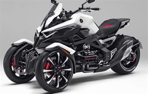 Honda Neowing Three-wheeler Hybrid Concept Revealed