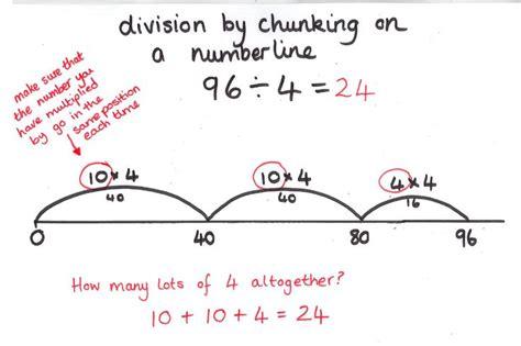 chunking division worksheets year 4 division 3