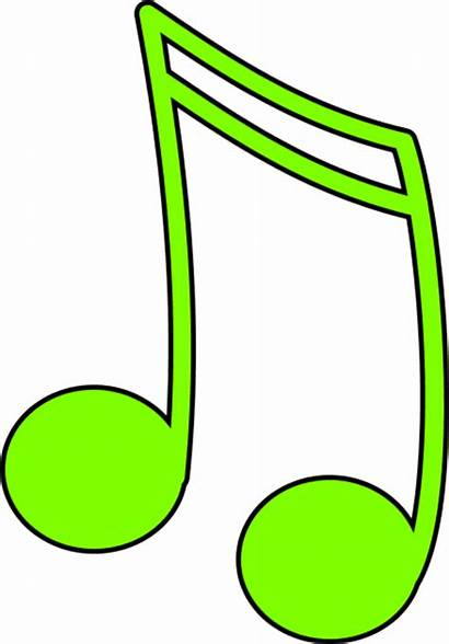 Notes Note Clipart Musical Clip Colorful Vector
