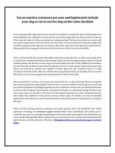 Emotional support animal letter by thusi page 1 1 pdf for Free emotional support animal letter pdf