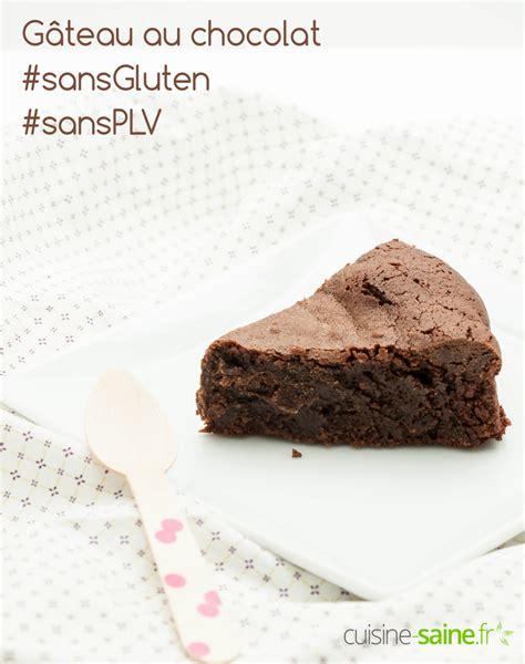 chocolat à cuisiner gâteau au chocolat sans gluten sans produit laitier cuisine saine sans gluten sans lait