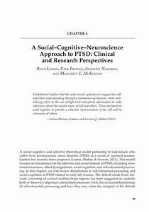 (PDF) A Social–Cognitive–Neuroscience Approach to PTSD ...