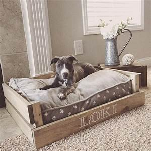 farmhouse style dog bed tap the pin for the most With cute dog beds for big dogs