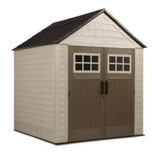 Rubbermaid Big Max Shed Assembly by Rubbermaid 7 Ft X 7 Ft Big Max Storage Shed 1887154 At