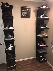 Made, Some, Shoe, Shelves, Based, On, The, Ikea, Lack, Shelf, Sneakers