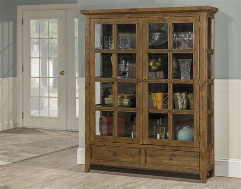 Tuscan Retreat® Display Cabinet 2 Doors 2 Drawers with