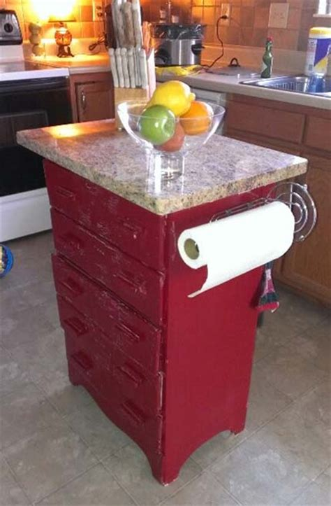 dresser into kitchen island 25 creative ways to turn junk into new junk the 6965