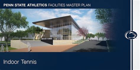 penn state facilities master plan athletic department