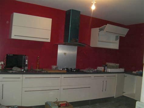 mur de cuisine cuisine mur meuble blanc peinture pour