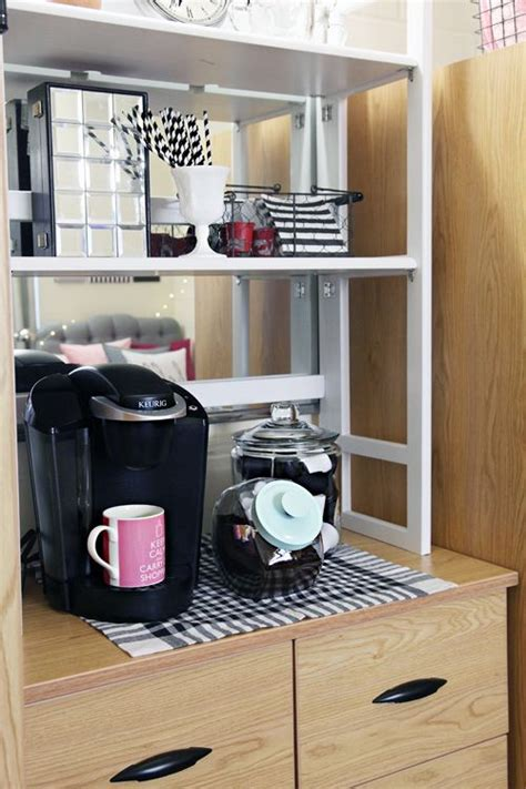 diy kitchen cabinets a coffee station above your dresser container 6837