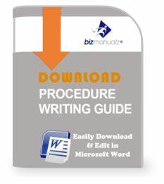 Writing Policies And Procedures Template What 39 S The Difference Between Policies And Procedures
