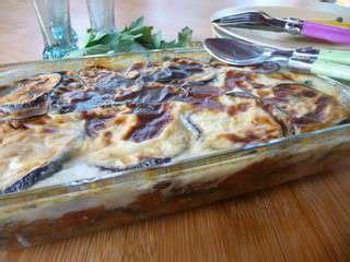 paruline en cuisine recettes de moussaka
