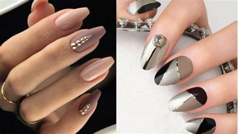 fall  winter  nail trends hanging