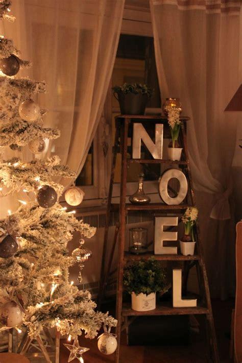 noel   christmas pinterest ladder wooden