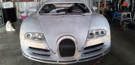 Najlepsze oferty i okazje z całego świata! Incomplete Bugatti Veyron Replica Built from a 2004 Pontiac GTO