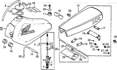 honda motorcycle 1983 oem parts diagram for tool kit honda motorcycle 1983 oem parts diagram for tool kit fuel tank seat partzilla