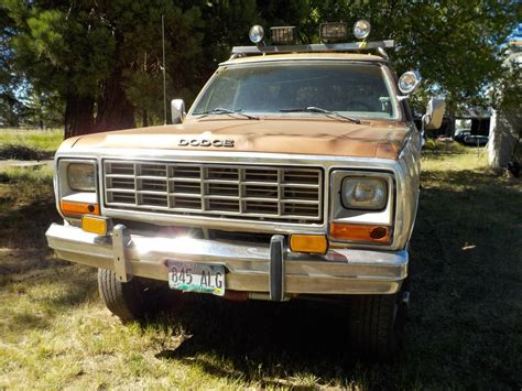 Dodge Bend Oregon by 1983 Dodge Ramcharger V8 Auto For Sale In Bend Or