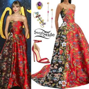 Taylor Swift: White Dress, Cut-Out Boots   Steal Her Style