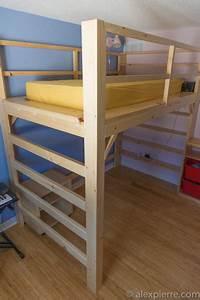 Fabriquer Un Lit Mezzanine : lit mezzanine e m j a au k 39 nada ~ Dode.kayakingforconservation.com Idées de Décoration