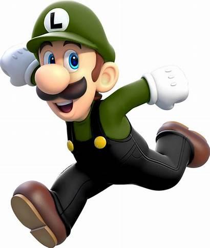 Luigi Render Mario Recoloured Turned