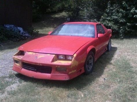 how cars run 1992 chevrolet camaro user handbook find used 1992 chevy camaro rs 3 1 v6 runs and drives new front seats new motor seals in van