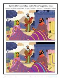 paul   friends taught  jesus spot