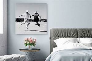 Schwarz Weiß Wandbilder : weniger farbe mehr eindruck wandbilder in klassischem schwarz wei setzen akzente im zuhause ~ Watch28wear.com Haus und Dekorationen