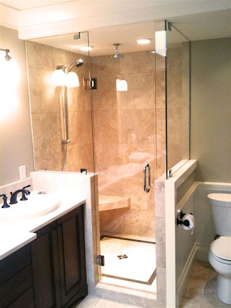 Bathroom Showers by Picture Gallery Of Our Custom Glass Showers Bathrooms In