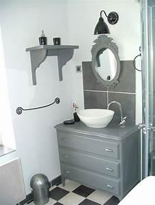 Commode De Salle De Bain : la salle de bain fait peau neuve annartiste ~ Dailycaller-alerts.com Idées de Décoration