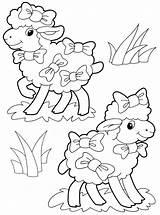 Sheep Coloring Pages Elk Colors Animals Coloringtop sketch template