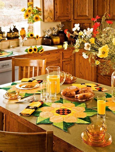 Kitchen Themes Ideas by 11 Diy Sunflower Kitchen Decor Ideas Giras Les