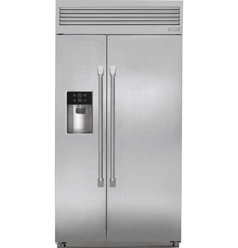 monogram  built  professional side  side refrigerator discount appliances