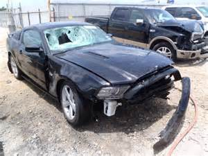 Indy Boat Salvage Website by 2013 Wrecked Mustang Autos Post
