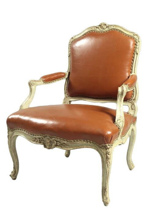 louis xv fauteuil quot 224 dossier plat quot ref 63486