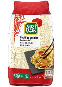 cuisiner haricot suzi wan nouilles en nids