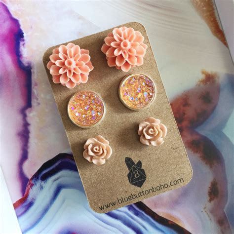 Details This Beautiful Earring Set Features Pairs