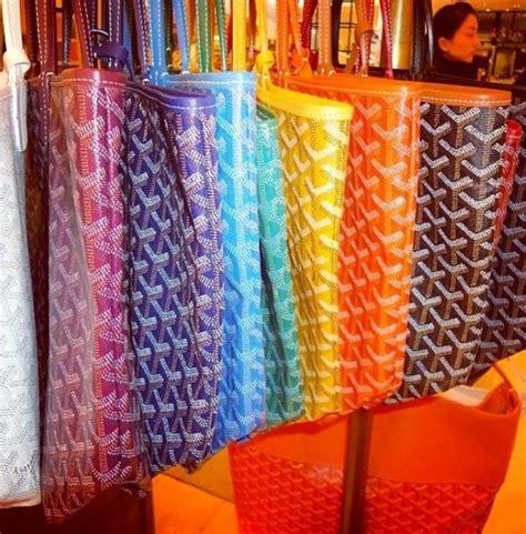 goyard colors goyard handbags colors images
