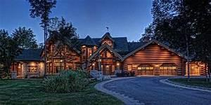 a vendre chalet en bois rond a 45 millions pres de With maison en bois quebec