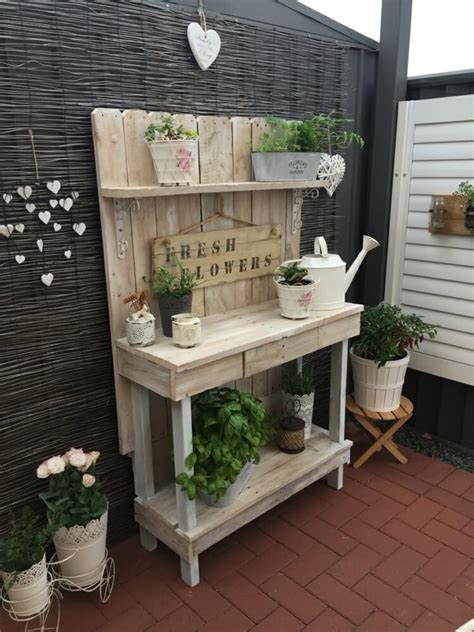 potting bench ideas  designs
